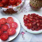 Tomates secos: paso 2