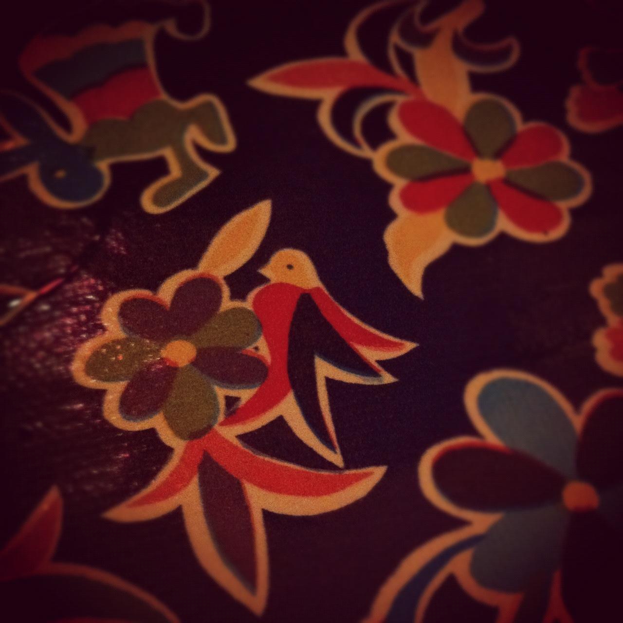 Mantel con dibujos mexicanos